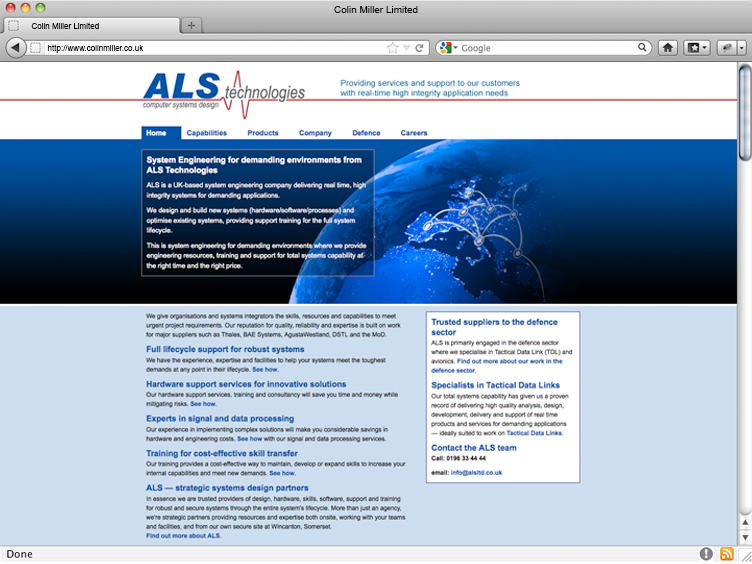 ALS Technologies Ltd
