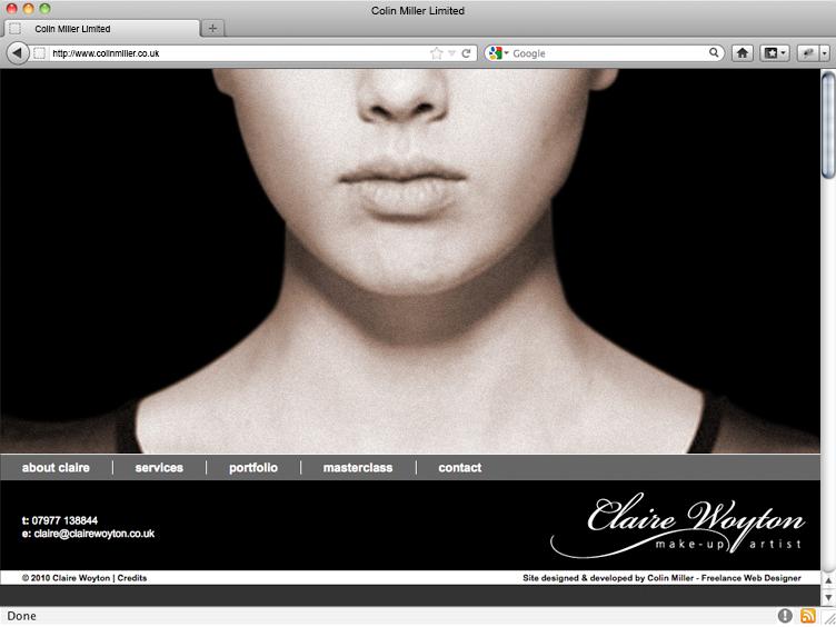 Claire Woyton Makeup Artist