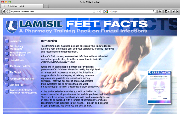 Lamisil Feet Facts