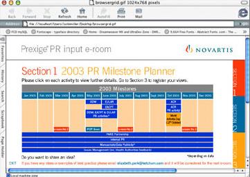 Prexige PR Input e-room